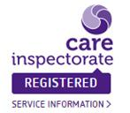 Care Inspectorate Registered Logo